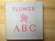 Vintage Collins Colour Camera Books Flower ABC 1950