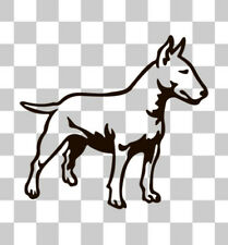 Staffordshire English Bull Terrier Bully Car Van Laptop Window Sticker Decal