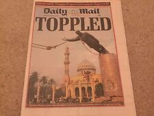 DAILY MAIL TUESDAY APRIL 10 2003 BUDGET 2003