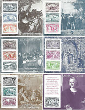 1992 Spain/Espana Voyages of Columbus 500, Set of 6 S/S MNH 2677-2682*