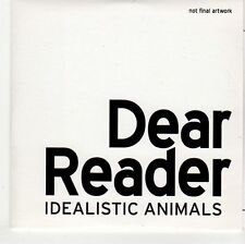 (EH811) Dear Reader, Idealistic Animals - 2011 DJ CD