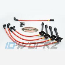 Magnecor kv85 Ht Encendido conduce 8,5 mm (Clip Tipo) Toyota Starlet Gt Turbo ep82