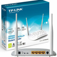 TP-LINK TD-W8961ND WHITE Modem Router Wireless - ADSL2+ per Telecom/Infostrada