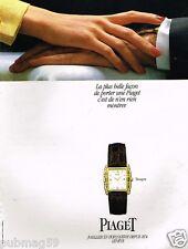 Publicité advertising 1991 La Montre Tanagra Piaget