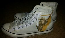 Unisex AC/DC Converse All Star Chuck Taylor Shoes Size 9.5 men's 11.5 women's