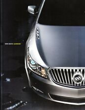 2010 10 Buick  Lacrosse  original sales brochure MINT