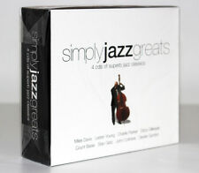 SIMPLY JAZZ GREATS [4 CD'S OF SUPERB JAZZ CLASSICS] FUORI CATALOGO 698458246622