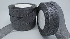"NEW 25yards 1 ""25mm glitter ribbons Bling for DIY Wreaths decorated and Bows 11A"
