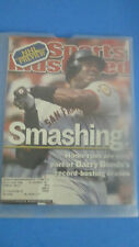 SPORTS ILLUSTRATED-OCT.8,2001-SMASHING-BARRY BONDS-GIANTS HOME RUN RECORD