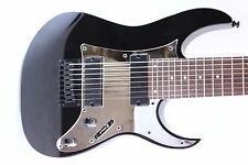 Chrome Mirror Pickguard fits Ibanez (tm) RG8 8 String Guitar RG