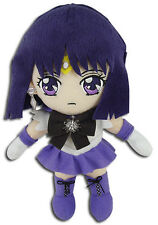 "*NEW* Sailor Moon S: Sailor Saturn 8"" Plush by GE Animation"
