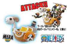 One Piece WCF DWC Mega Merry Going Attack Zoro Luffy Sanji Chopper 8 Figure