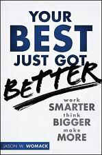 Jason Womack~YOUR BEST JUST GOT BETTER~SIGNED~1ST/DJ~NICE COPY