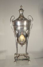 Antique Vintage Silver Plate Samovar Hot Water Urn English Style As is
