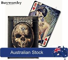Alchemy 1977 England Playing Cards Fantasy, Tattoo, Steampunk, Bicycle New