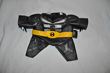 Build a Bear Black/Sliver/Yellow Belt Batman Suit 'The Dark Knight'