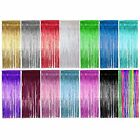 Shimmer Foil Door Curtain / curtains Decoration -Party Supplies - Choose colour