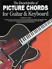 Encyclopedia Of Picture Chords Guitar Keyboard Learn Piano Music Book