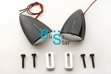 Black Custom LED Mirrors Turn Signals For Honda CBR600RR 2003-2004 EV