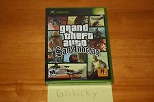 Grand Theft Auto: San Andreas (Xbox) NEW SEALED BLACK LABEL HOT COFFEE MINT!