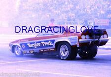 """""""Bergler & Prock"""" Tom Prock 1972 Chevy Vega NITRO Funny Car PHOTO!"""