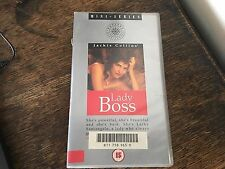 LADY BOSS BY JACKIE COLLINS  KIM DELANEY JACK SCALIA   VHS VIDEO