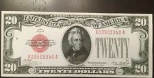 Fantasy Reproduction 1928 $20 Bill United States Note Jackson Banknote