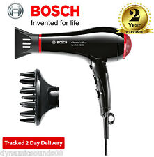 Bosch PHD7962GB Professional Classic Coiffeur Hair Dryer 2500 Watt - Black