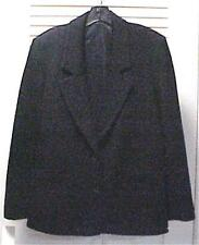 Bleyle Black Flannel Wool 2-Button Blazer/Jacket Size 10 #30500 NEW WITH TAGS