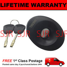 LOCKING DIESEL FUEL CAP INCLUDING 2 KEYS FOR  FORD TRANSIT 1994-2000