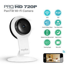 SANNCE Wireless WiFi 720P HD IP Network Home Security Camera ONVIF 2-Way Audio