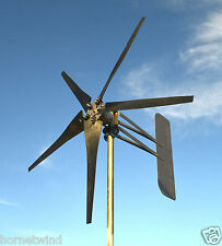 KT5 Roller Wind Turbine SC5 Blade 1685W 24 volt AC 3 wire 14 magnet 6.3 kWh USED