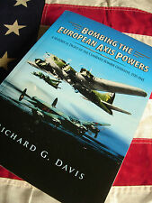 BOMBING EUROPEAN AXIS POWERS 1939-45 WWII Luftwaffe 8th Air Force 8AF B-17 B-24