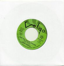 GWEN OWENS   JUST SAY YOU'RE WANTED/ I LOST A GOOD THING  UK VELGO/OUTTASIGHT
