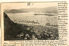 24669 PC Postcard HONG KONG from the peak port 1902