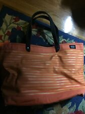 Jack Spade Coal Tote Bag, Messenger, Orange Breton Stripe, UNISEX