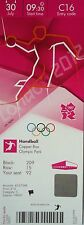Ticket Olympia 30.7.2012 Women 's hand ball angola-croacia c16