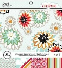 "s.e.i CORINNE Paper Pad / Stack 6""x 6"" 24 sheets CLEARANCE PRICE"