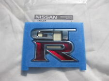 Nissan Skyline Rear GTR GT-R  Emblem/Badge Logo R35 Genuine