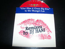 The Shangri-las Give Him A Great Big Kiss Rare Hani Remixes Australian CD Single