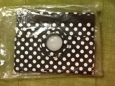 Black and White Polka Dot Case/Stand for IPad 2