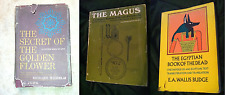 Lot of 3 Occult Classic Magick Books The Magus Golden Flower Jung vintage