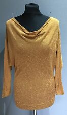 Vivienne Westwood Evening Buddy Knitwear Bronze Jumper BNWT