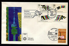 1972 US & Germany Olympia Philatelie Munchen Event Cover Unaddressed 21414