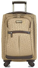 "Calvin Klein Nolita 2.0 21"" Upright Spinner Wheeled Carry On Luggage - Hazel"