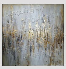 Hand Painted Abstract Canvas/linen Oil Painting Wall Art  Home Decor