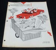 VTG MCM Deltagram & Flying Chips July Aug 1962 Building Plans Woodworking