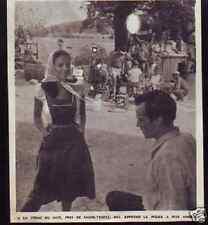 1961  --  FERME DE MUY PRES ST TROPEZ MEL FERRER