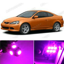 8 x Premium Hot Pink LED Lights Interior Package Kit for Acura RSX 2002-2006
