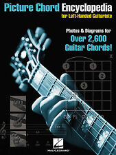 Picture Chord Encyclopedia For Left-Handed Guitarists Play Guitar Music Book